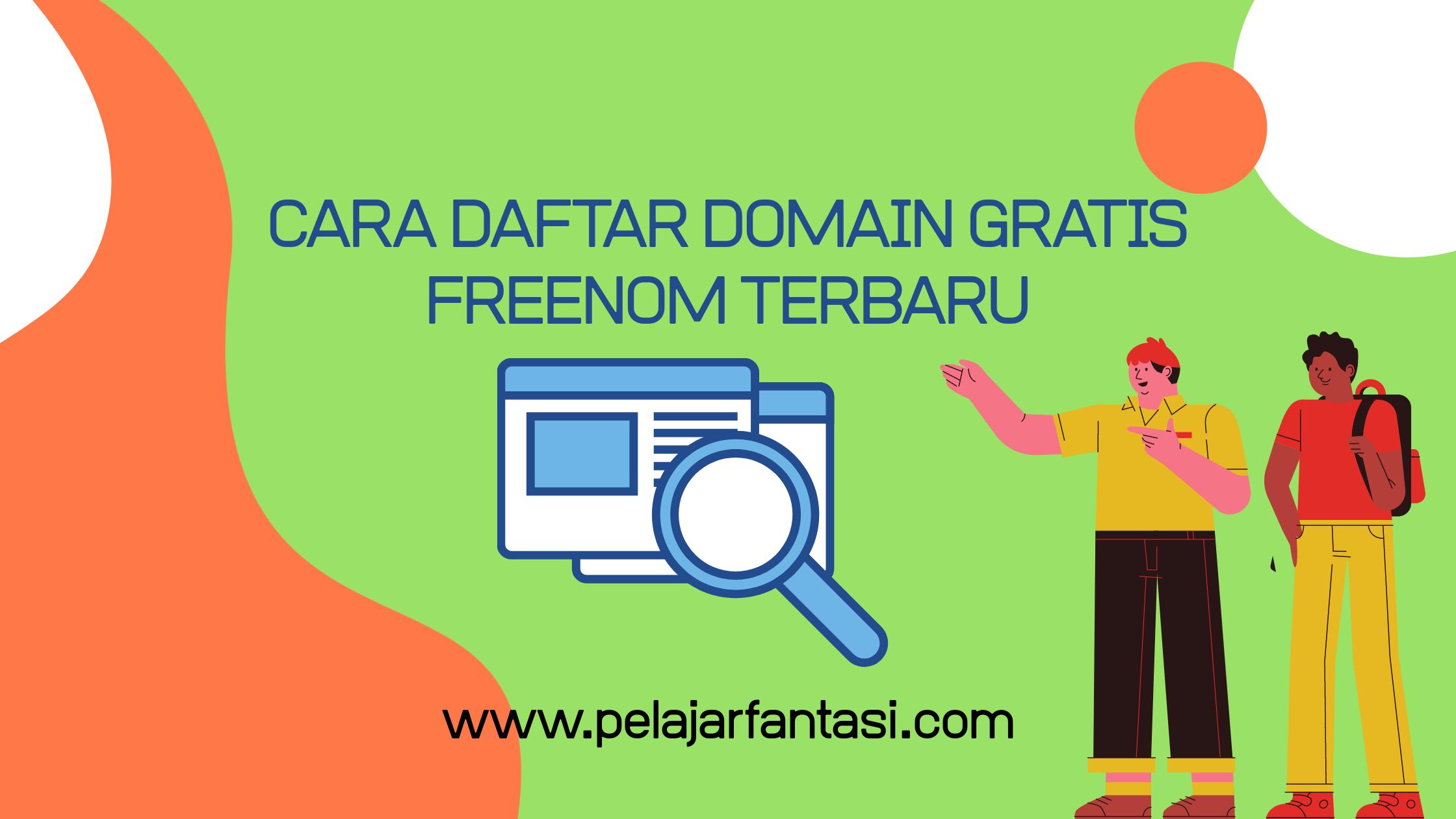 Cara Daftar Domain Gratis Freenom Terbaru 2021