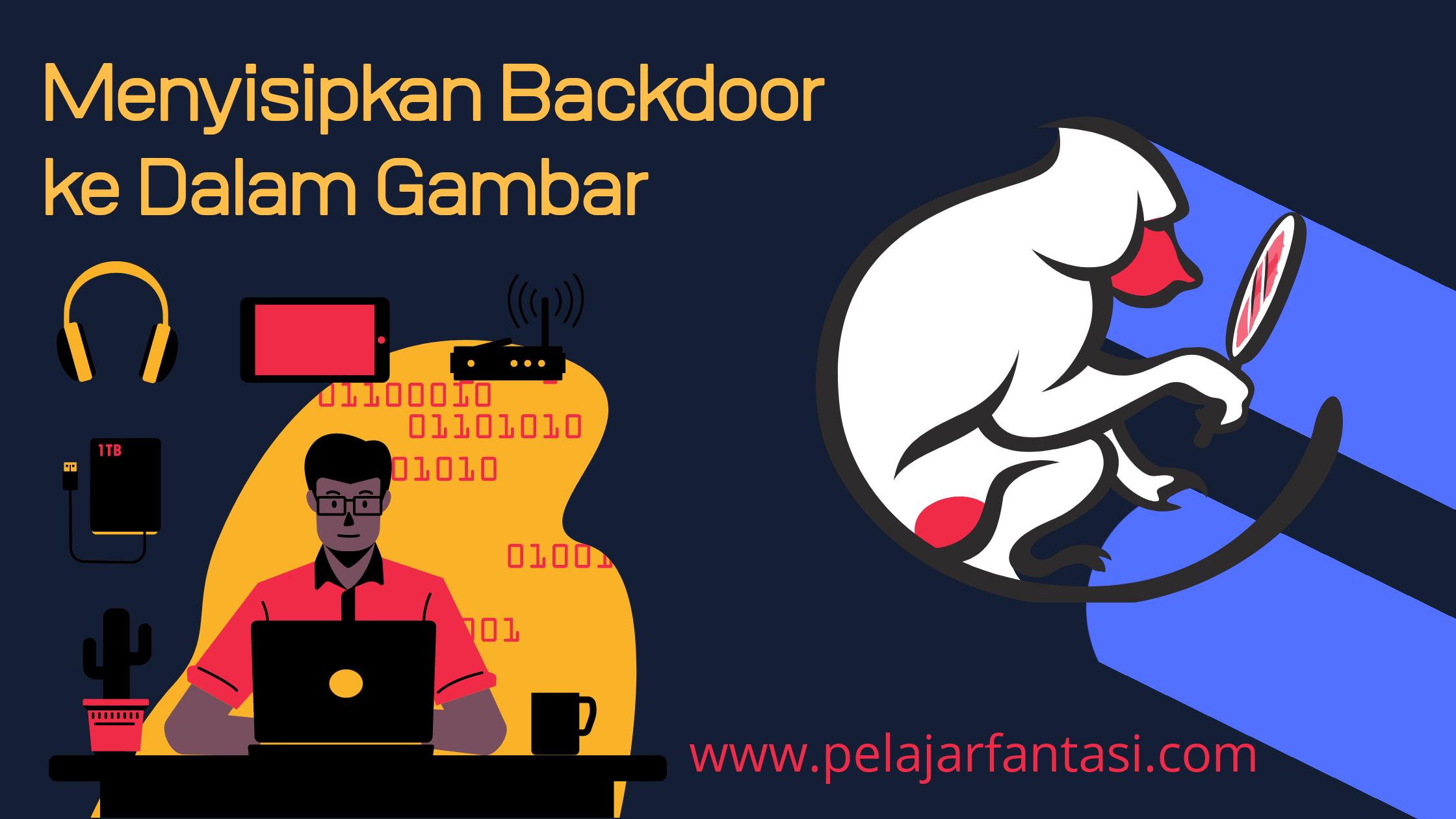 Cara Menyisipkan Shell Backdoor PHP ke Dalam Gambar